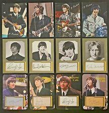 The Beatles 12 Card Lot. Paul McCartney, George Harrison, John Lennon Ringo Star
