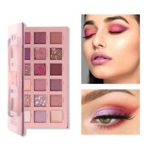 Palette Maquillage nude 18 couleurs fard / ombre à paupières avec miroir