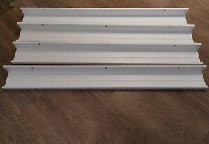IKEA Mosslanda 115cm Picture ledge - White x 4