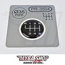 1x Schalthebel Silikon Aufkleber für Schaltknauf 3D Sticker | ∅=35mm | PR-3504