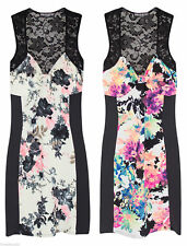 Petite Floral Stretch, Bodycon Dresses for Women