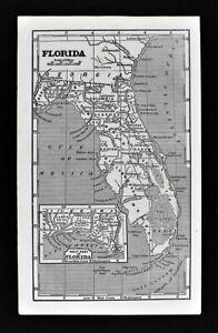 20x30 1884 De Land Florida Vintage Old Panoramic City Map