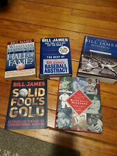 Bill James Baseball Abstract Lot