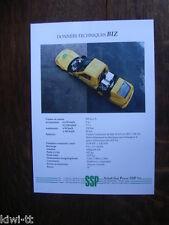 Scholl Sun Power ssp Biz folleto/brochure/depliant, F