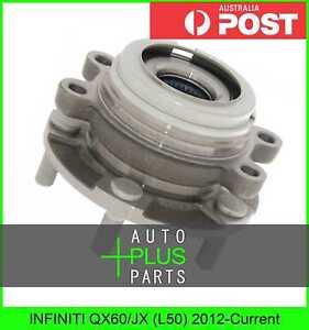 Fits INFINITI QX60/JX (L50) 2012-Current - Front Wheel Hub Bearing Right Hand Rh