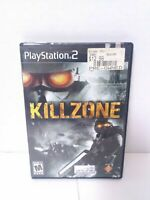 Killzone (Sony PlayStation 2, 2004) Complete Game Case & Manual TESTED Fast Ship