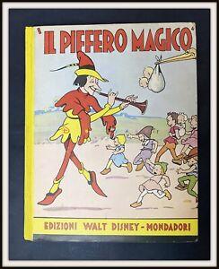 ⭐ IL PIFFERAIO MAGICO - Sinfonie Allegre Mondadori Disney 1935 - DISNEYANA.IT ⭐
