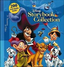 Disney Storybook Collection: A Treasury of Tales - 300 Page Hardcover