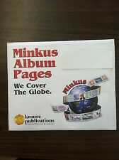 Minkus United States Sheetlet Album Pages from 1987-1994, New!