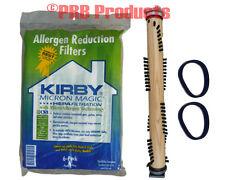 6 Genuine Kirby Universal Hepa Style Vacuum Bags + 2 Belts + 1 Brushroll Sentria