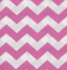 QUILT FABRIC:TONAL 100% COTTON, LARGE CHEVRON,  PINK, LC-16, By The Yard
