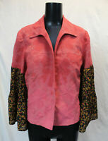 Emma James Women's The Morgan Factory Bell Sleeve Jacket SV3 Pink Size 12 NWT