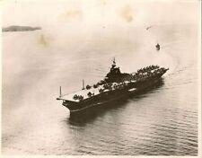 PHOTO MARINE MILITAIRE PORTE-AVION USS PRINCETON FORMAT 18 x 23 cm