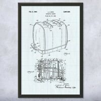 Framed Sunbeam Radiant Control Toaster Print Kitchen Art Cooking Gift Chef Gift