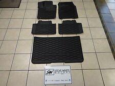13-15 Dodge Durango New Front Floor & Cargo Slush Mats Black Mopar Factory Oem