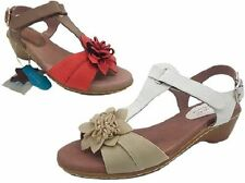 Synthetic Sandals Med (1 in. to 2 3/4 in.) Women's Heels
