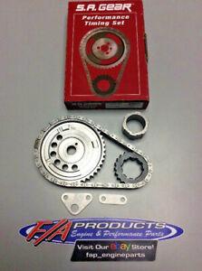 """Chevrolet LS2 / LS3 Engine BILLET .250"""" Roller Timing Set S.A. GEAR 78535T-9"""