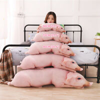 Simulated Pig Plush Toy Down Cotton Doll Large Sofa Decor Pillow Birthday Gift