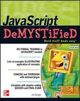 JavaScript Demystified Keogh, Jim Good