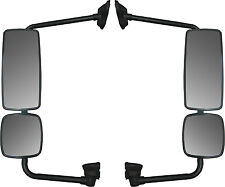 Freightliner M2 Side View Mirror Assembly Set with Chrome Housing