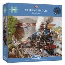 Gibsons 1000 Piece Jigsaw Puzzle - Pickering Station