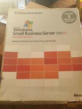 Microsoft Windows Small Business Server SBS Premium 2003 R2 Edition T75-01255