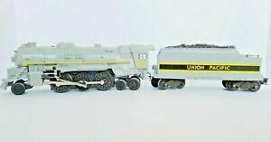 Union Pacific 2-6-4 Steam Locomotive & Tender, Lionel 6-18607, Excellent in Box