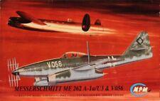 MPM 1:72 Messerschmitt Me-262 A-1a/U3 & V056 Plastic Model Kit #72113U