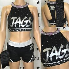 Cheerleading Cheer Allstar Topgun Jags Practice Set  Youth L