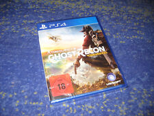 Tom Clancy's Ghost Recon: Wildlands (Sony PlayStation 4, 2017) kpl. DEUTSCH NEU