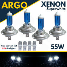 Bmw H7 H7 501 55w Super White Xenon Hid High/low/sidelight Beam Headlight Bulbs