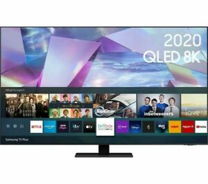 Samsung 55 Inch 55 Smart True 8K QLED TV with HDR QLED TV with Bixby, Alexa & Go