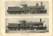 1900 Compound Engines For Northern And Central Railway Of Switzerland