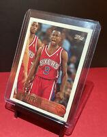 1996 Topps Allen Iverson #171 Rookie Card MINT Philadelphia 76ers 🏀🔥