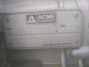 Motorblock Gehäuse für ACME Motor A220 B A180 Ersatzteil A 220 180