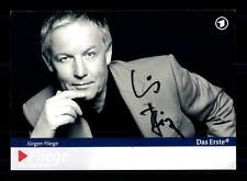 Jürgen Fliege ARD Autogrammkarte Original Signiert # BC 100311