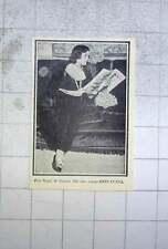 1928 Pola Negri, Reading The Britannia Magazine