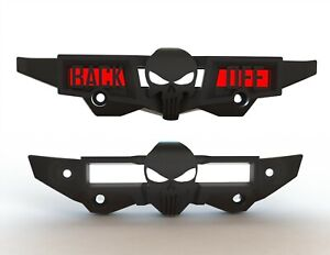 Custom Traxxas Maxx (4S) Skull Bumpers Front and Back (6 COLORS AVAILABLE)