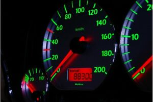 Volkswagen Golf 3 Design 6 glow gauges dials plasma dials kit tacho glow dash sh