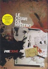 Dvd **LE CHIAVI DEL MISTERO** con Carlo Lucarelli nuovo