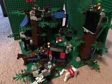 Lego Dark Forest Set Number 6079, Dark Forest Fortress, Produced in 1996