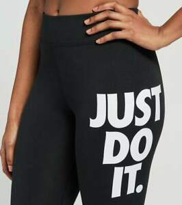 Nike Sportswear Leg-A-See JDI Women's 7/8 Leggings in Black
