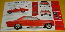 1966 Chevrolet Chevy II Nova SS 327 ci 393 hp Custom Mod IMP Info/Specs/photo