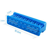 Pro Dental Endo Block Files Measuring Tools Accessory Endodontic Ruler Tool CE