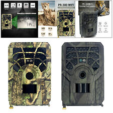 120 Degrees 24MP WIFI Hunting Camera Wildlife Trail Cam for Home Monitoring