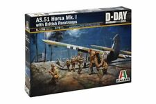 ITALERI 1356 1/72 AS.51 Horsa Mk.I with British Paratroops