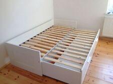 Ikea Bett Brimnes 80 X 200cm, Ausziehbett bis 160x200, ohne Matratzen