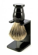 Edwin Jagger Best Badger Shaving Brush Ebony w/stand 1EJ876SDS