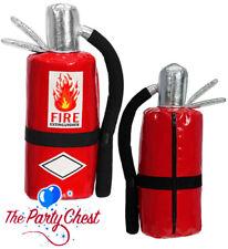 FIRE EXTINGUISHER BAG Red Fireman Firefighter Novelty Fancy Dress Handbag Purse