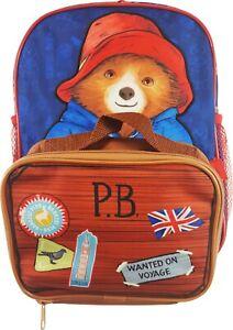 Paddington Bear backpack with detachable pencil case  H30cm X W25cm X D9cm gift